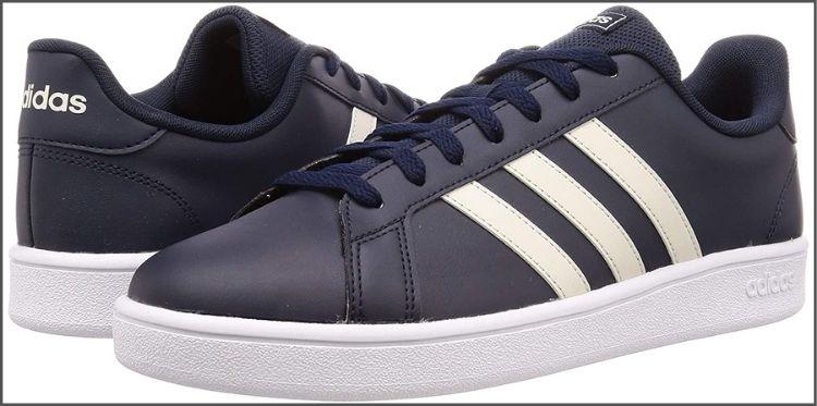 Adidas men's grand court base tennis shoes
