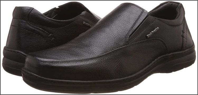 Hush Puppies Men's Taylor Slip On Leather Casual Shoes