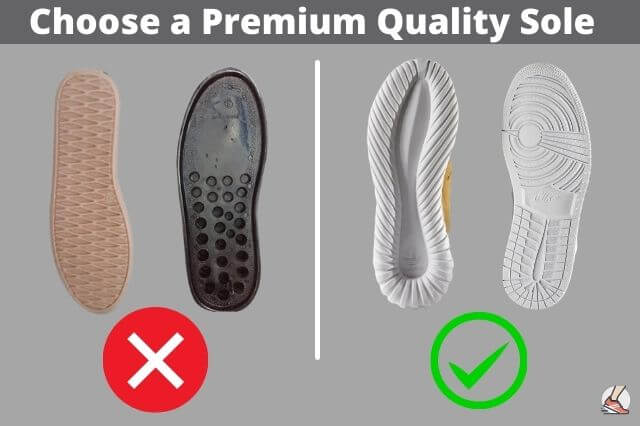how to choose a premium quality sole