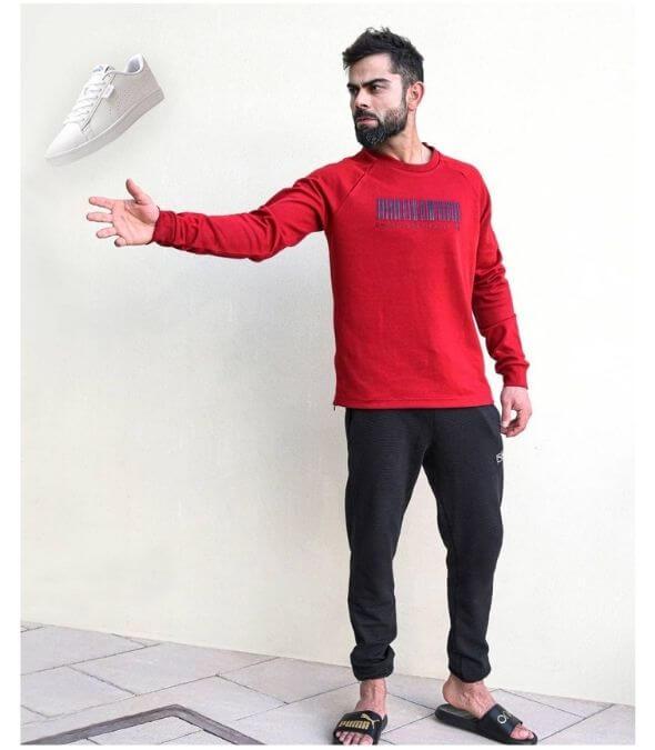 Virat Kohli Shoes Style