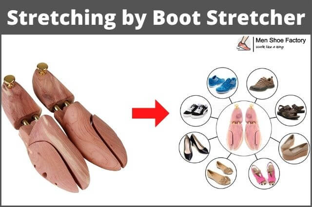 Stretch Rubber Boots by boot stretcher